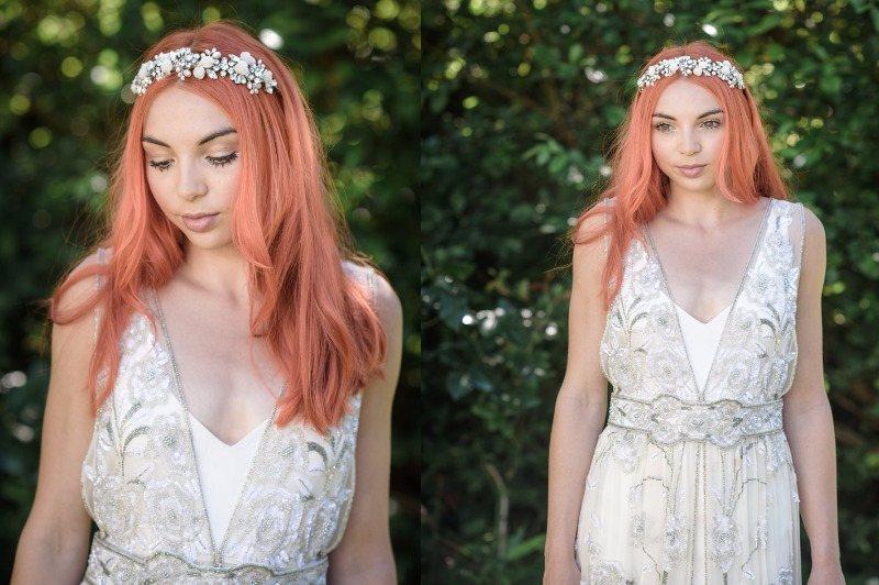 Jo Barnes Zahra floral headband