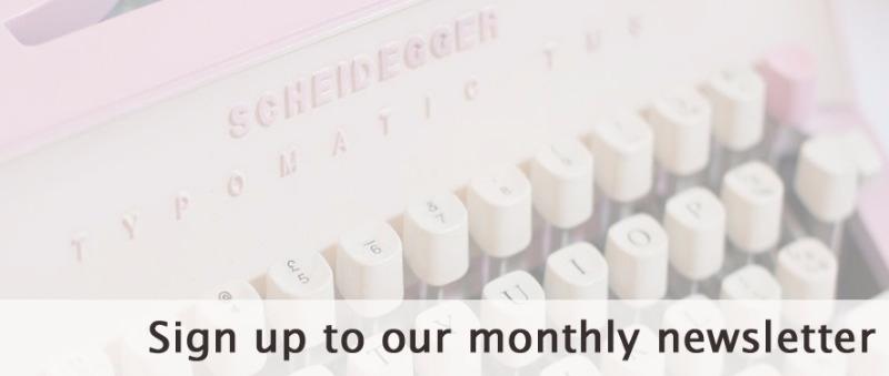Jo Barnes monthly newsletter