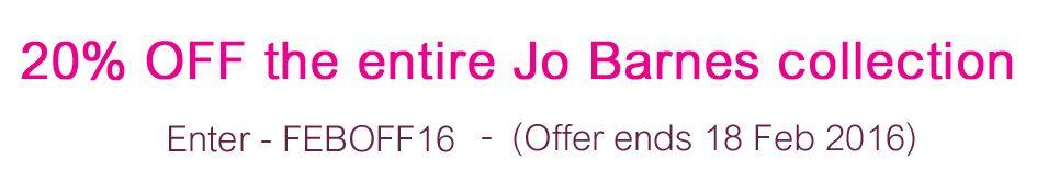 Jo Barnes discount