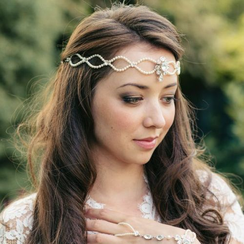 Lois Bridal Forehead Band