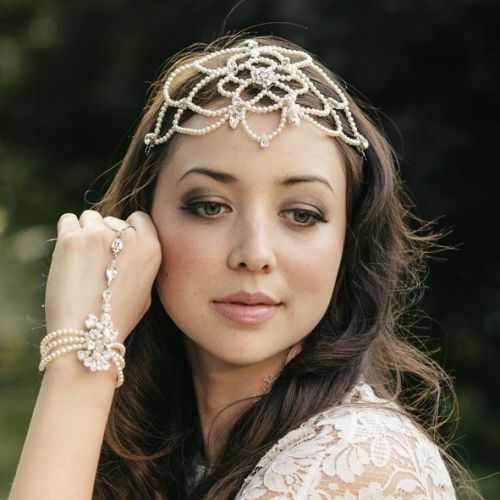 Nancy Bridal Headdress