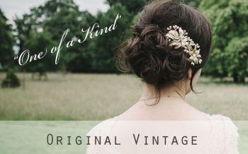 original vintage tiaras and combs