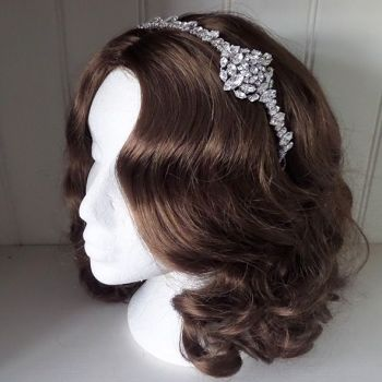 Violet 1920s Brow Headpiece