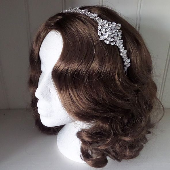 Violet Brow Headpiece