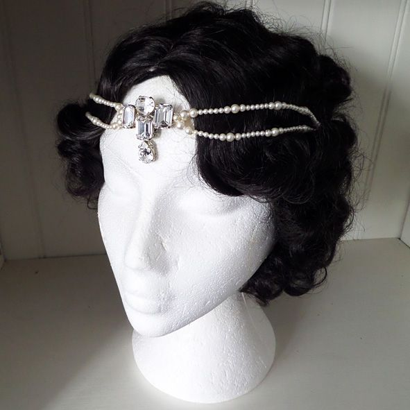 Ethel Art Deco Browband