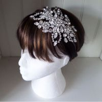 Hepburn Bridal Headpiece