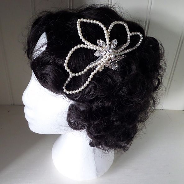 Lucille Bridal Hair Comb