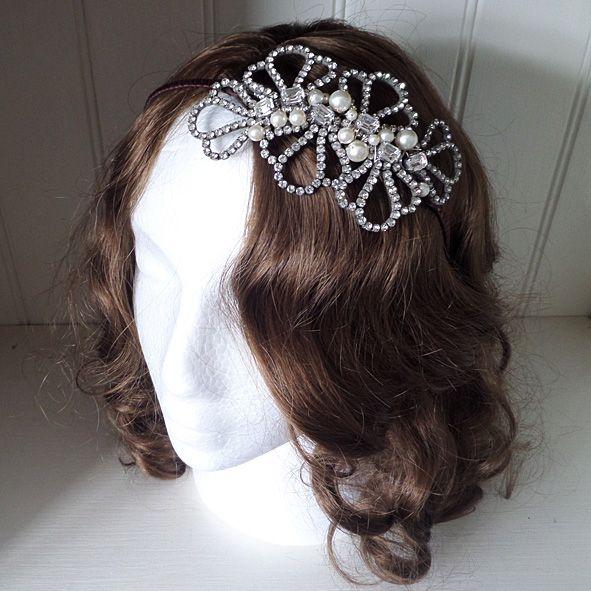 Bessie Bridal Headband