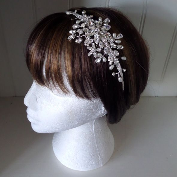 Lela Bridal Side Tiara