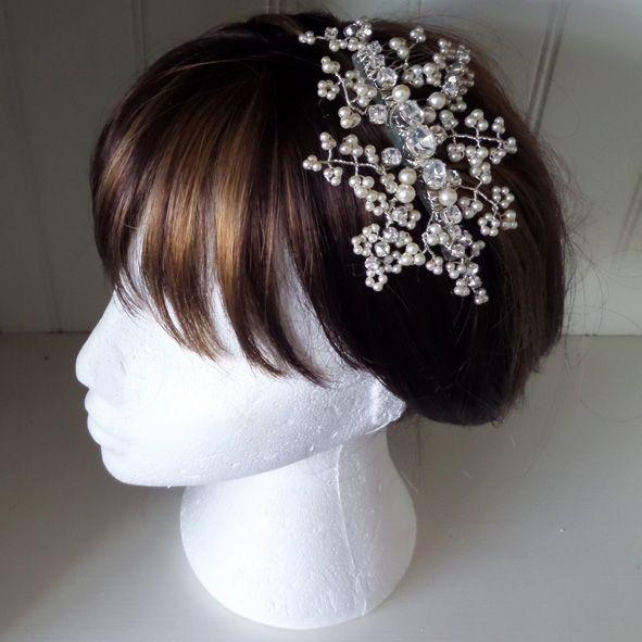 Lila Bridal hair comb