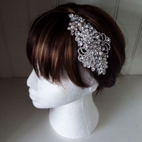 Grace bridal hair comb