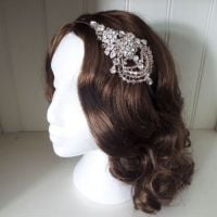 Garbo Bridal Headpiece