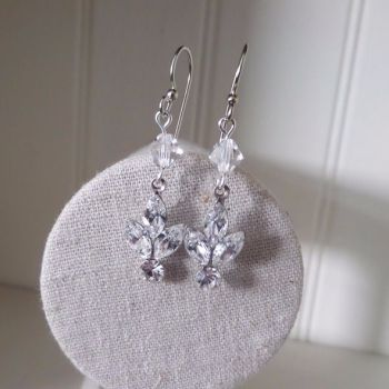 Lois earrings - Crystal