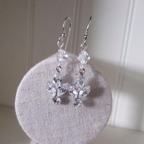 Lois earrings - Crystal