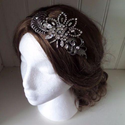 Evelyn Vintage Bridal Headpiece