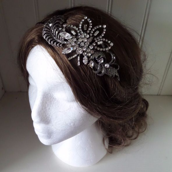 Evelyn Vintage Bridal Headpiece