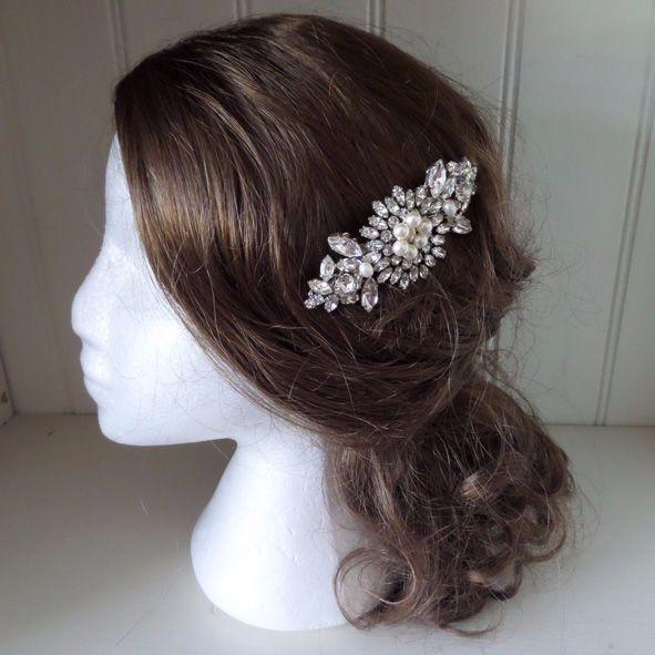 Leona Vintage Bridal Hair Comb