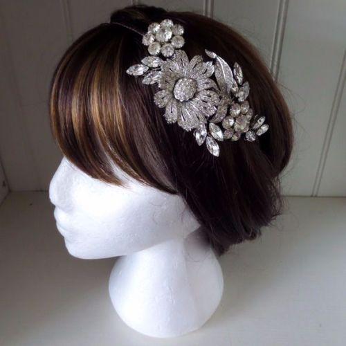 Marsha Vintage Bridal Headband