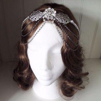 Jo Barnes Martha headpiece