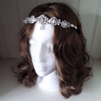 Hettie vintage forehead band. RESERVED