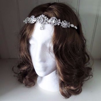 Hettie vintage forehead band