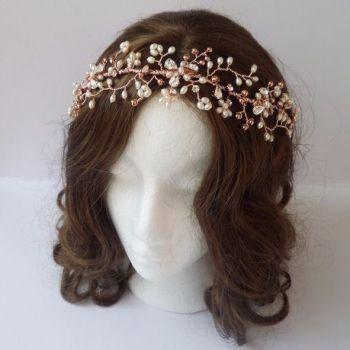 Jo Barnes Arlene hair vine