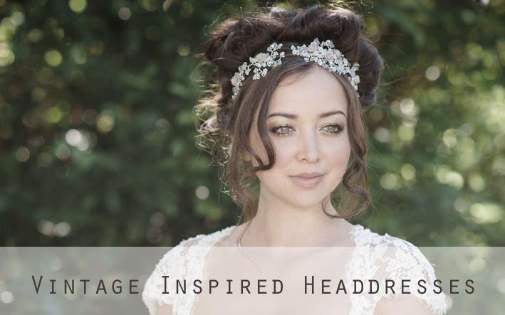 Vintage Inspired headdresses