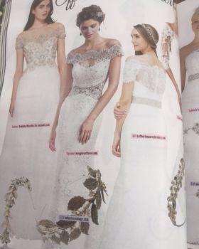 JB Mimosa in wedding ideas magazine