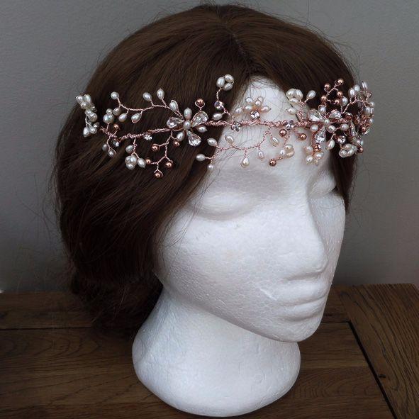 Arlene Floral Hair Vine