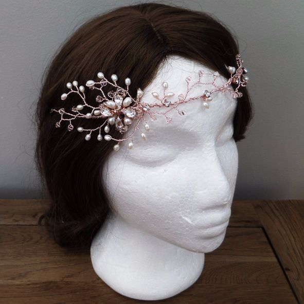 Eva Bridal Hair Vine