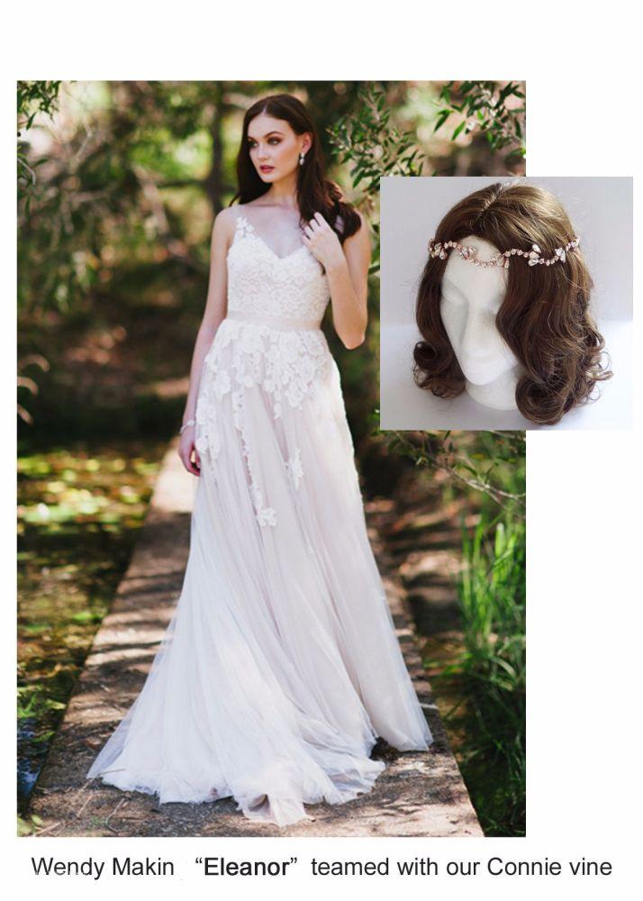 Wendy Makin Eleanor gown
