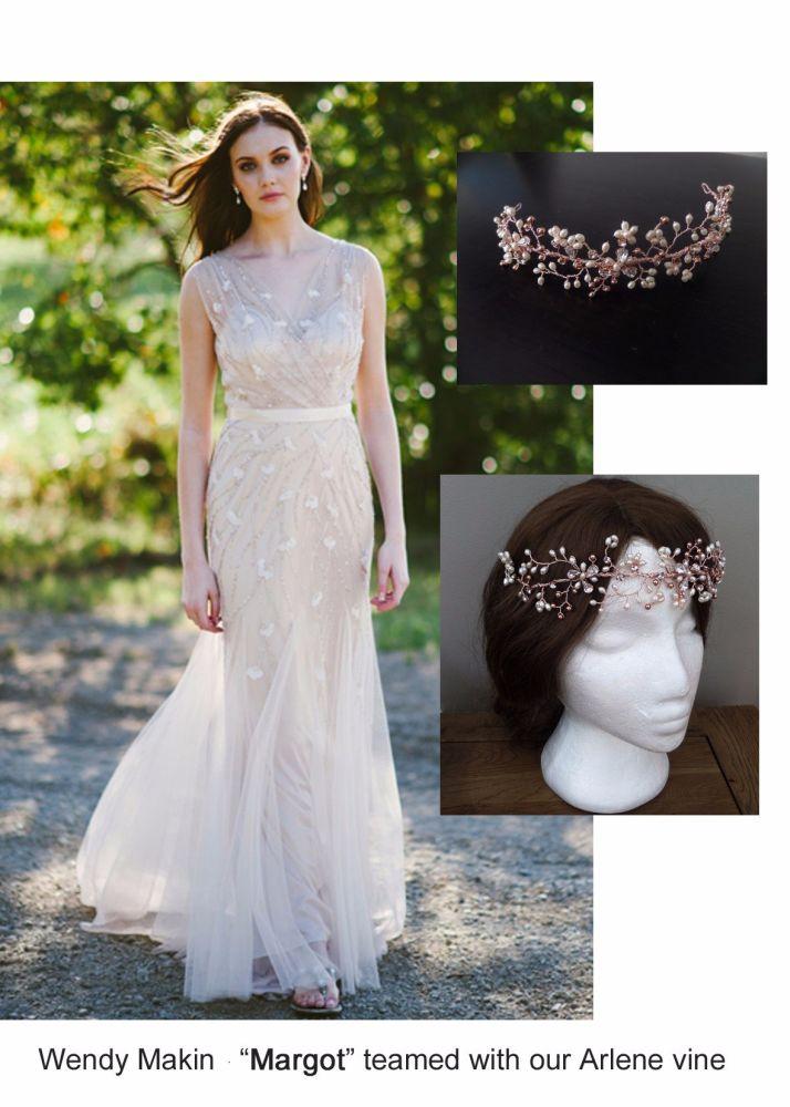Wendy Makin Margot gown