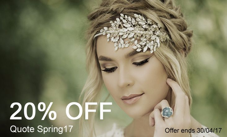 Jo Barnes bridal accessories