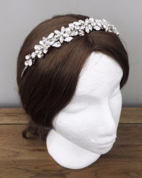 CHLOE Wedding Headband, Tiara
