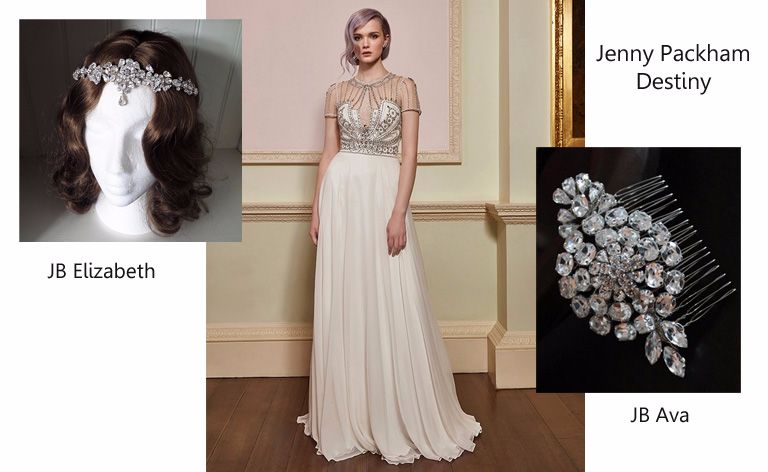 Jenny Packham Destiny - Spring 2018 collection
