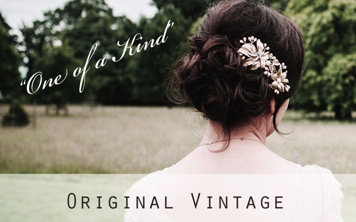 Original Vintage Headpieces