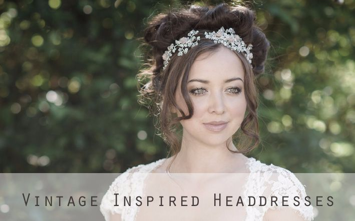 Vintage Inspired headdresses