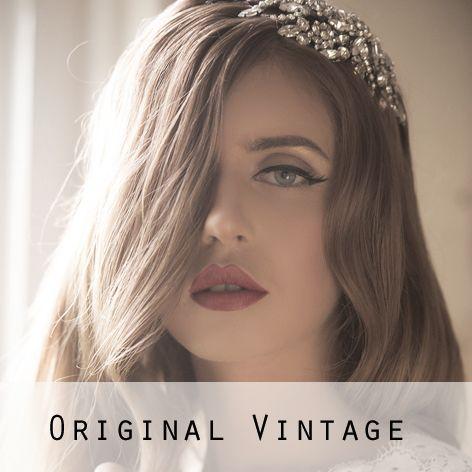 Original Vintage Bridal Headpieces