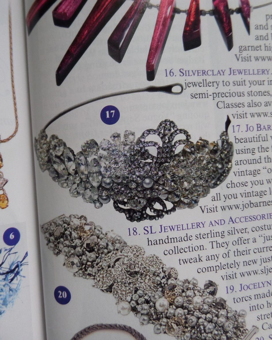 Jo Barnes vintage in Vogue magazine