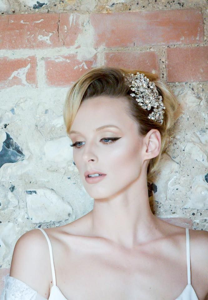 Harlow headpiece  by Jo Barnes