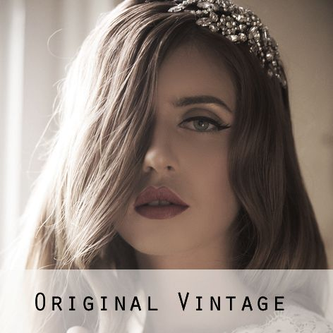 Original Vintage Bridal Headpieces
