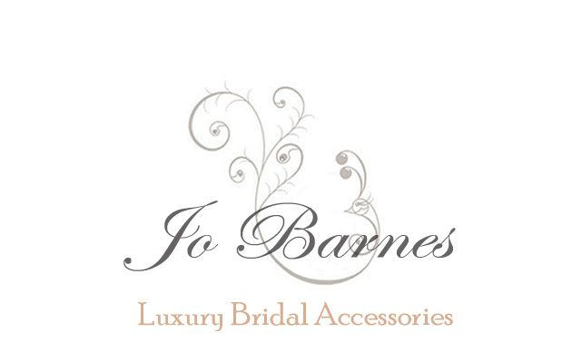 Jo Barnes - luxury handmade bridal accessories