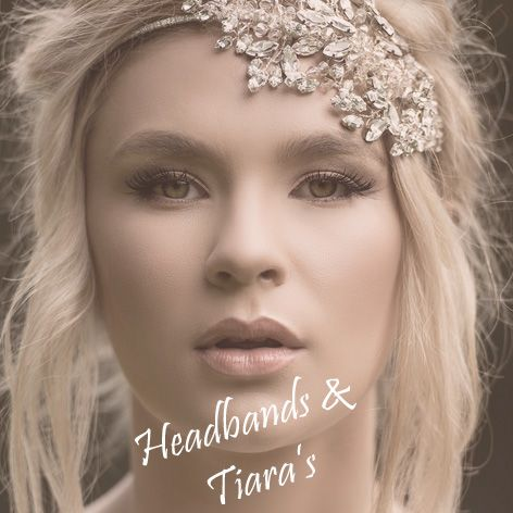 Bridal headbands and tiara's