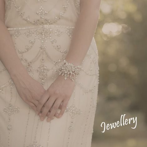 Handmade bridal jewellery