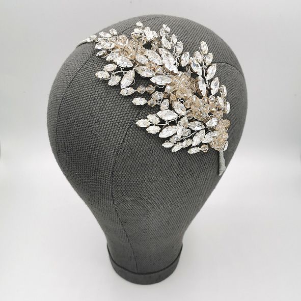 Harlow Bridal side headband