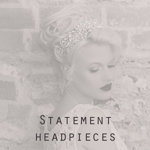 Bridal Statement Headdresses