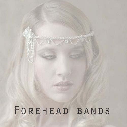 Bridal Forehead bands