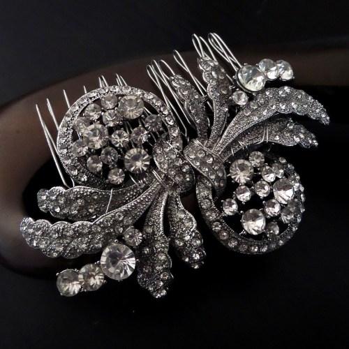 Cleo Bridal Hair Comb