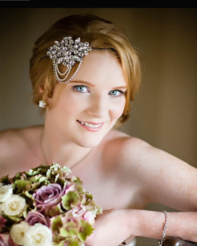 Jo Barnes bride in Nelda