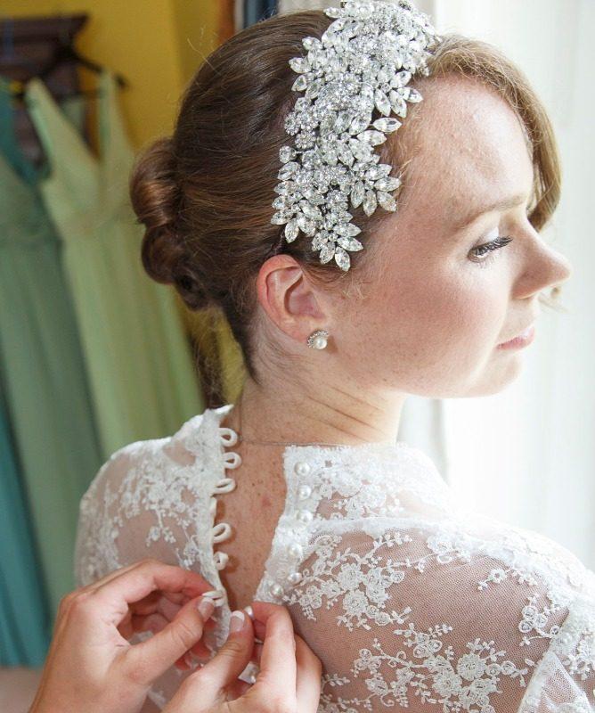 Jo Barnes Estelle bride